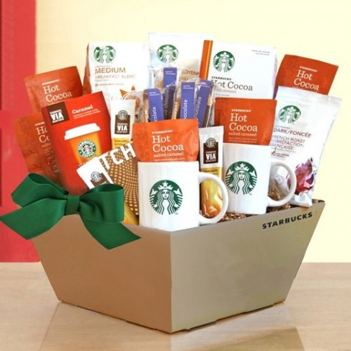 Starbucks Coffee, Cocoa & Chocolate to Share