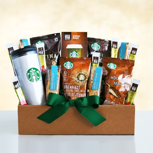 Starbucks Get up and Go Box