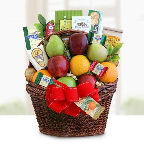 CA Fruitful Greetings Basket Ultimate