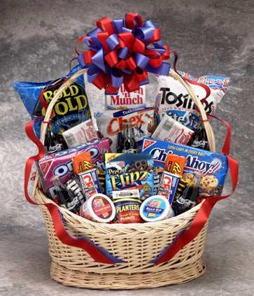 Coke Works Snack Gift Basket