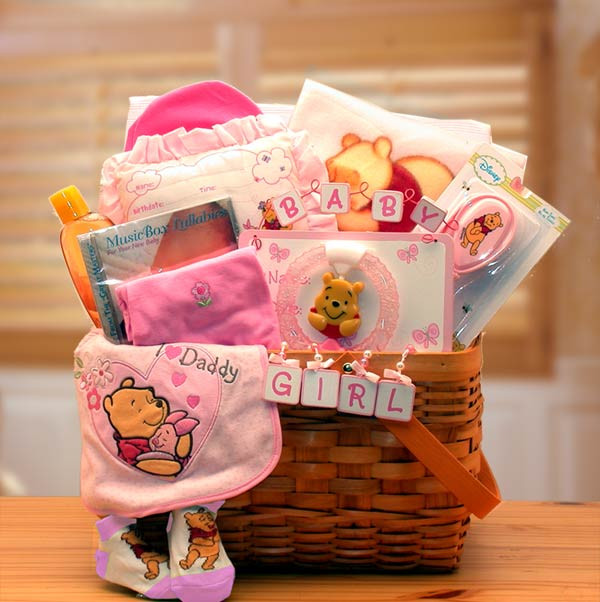 Online breakfast gift basket delivery usa send breakfast gift basket winnie the pooh new baby basket pink negle Gallery