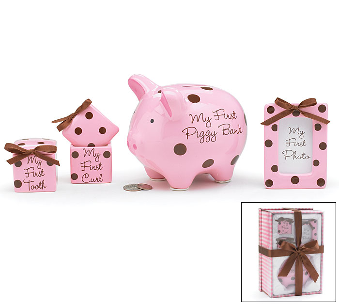 Baby Girl Keepsake Gift Set