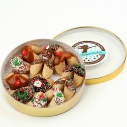 Christmas Pretzel Gift Basket