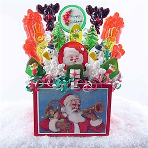 Classic Christmas Lollipop Bouquet
