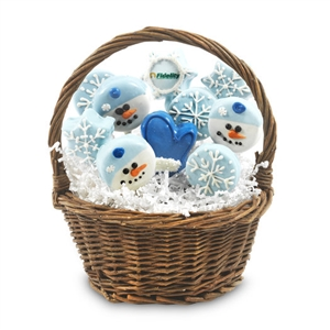 Personalized Winter Sweet Treats Bouquet