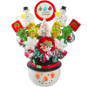 Frosty Lollipop Bouquet