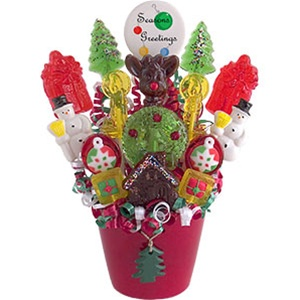 A Sweet Noel Lollipop Bouquet