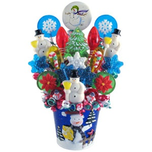 Winter Wonderland Lollipop Bouquet