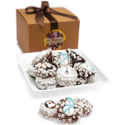 Belgian Chocolate Winter Holiday Oreos®- Gourmet Gift Box