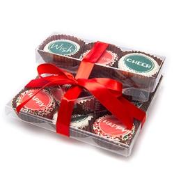 Edible Print Christmas Oreo Tower Gift Set