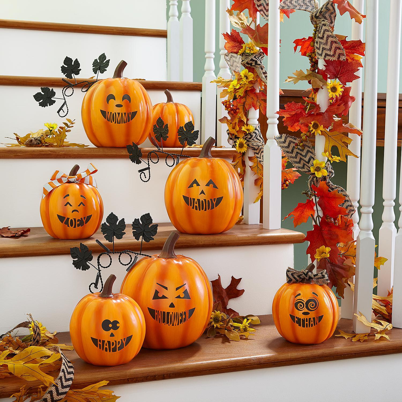 Design Your Own Halloween Pumpkin Family