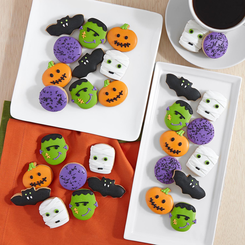 Halloween Mini Cookies  30 Piece