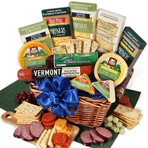 Gourmet Meat and Cheese Sampler  Deluxe