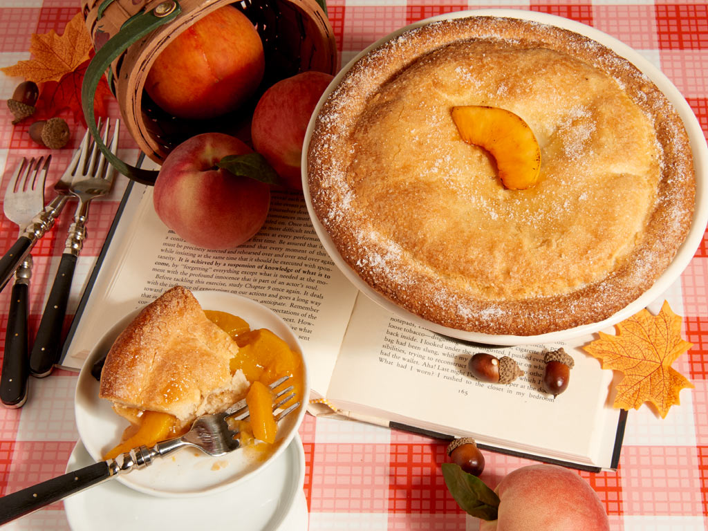Peach Perfect Pie