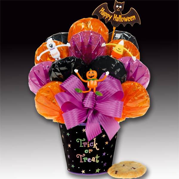 Halloween Trick Or Treat Cookie Bouquet