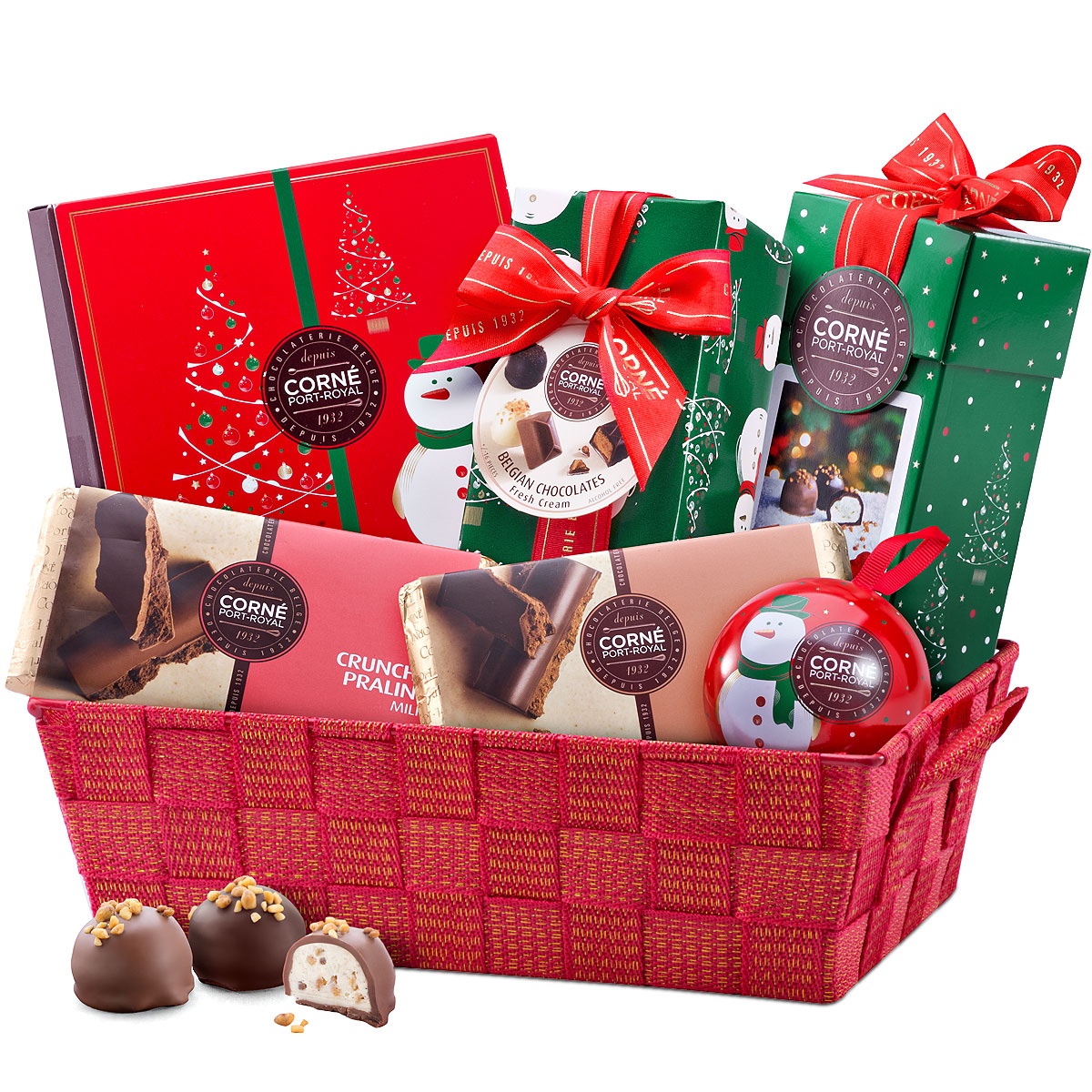 Corné Port-Royal Sparkly Chocolate Hamper