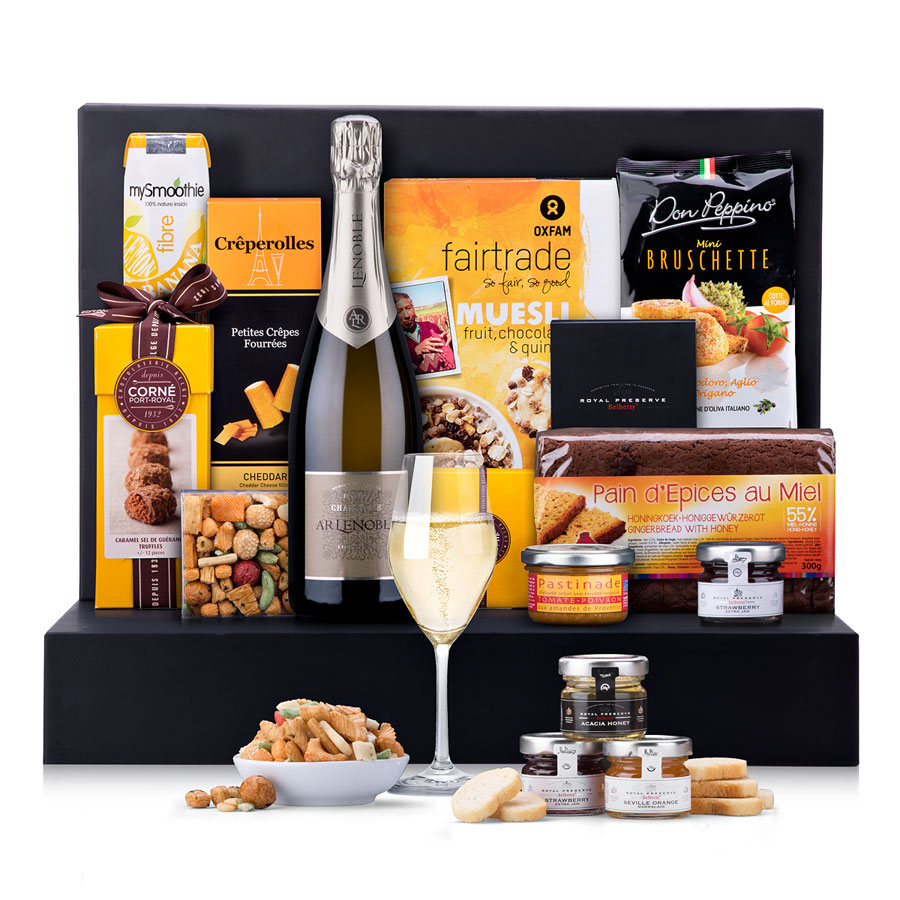 Lenoble Champagne Brunch Celebration Gift Box