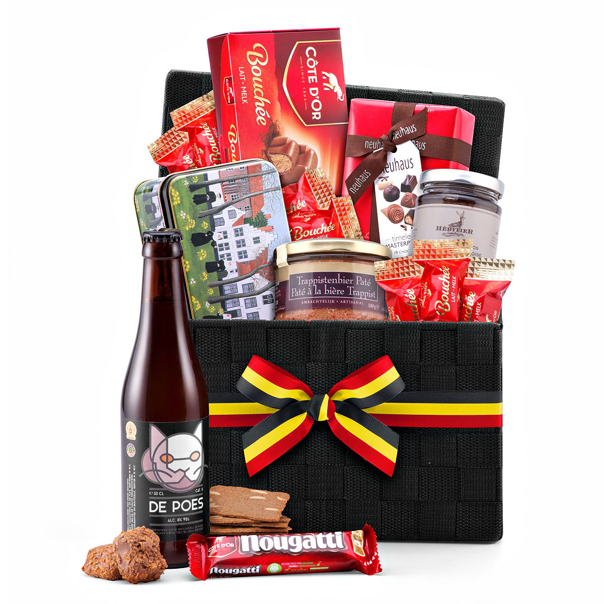 Belgian Gourmet Hamper with Belgian Beer