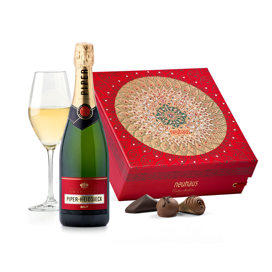 Piper-Heidsieck And Neuhaus Luxury Box
