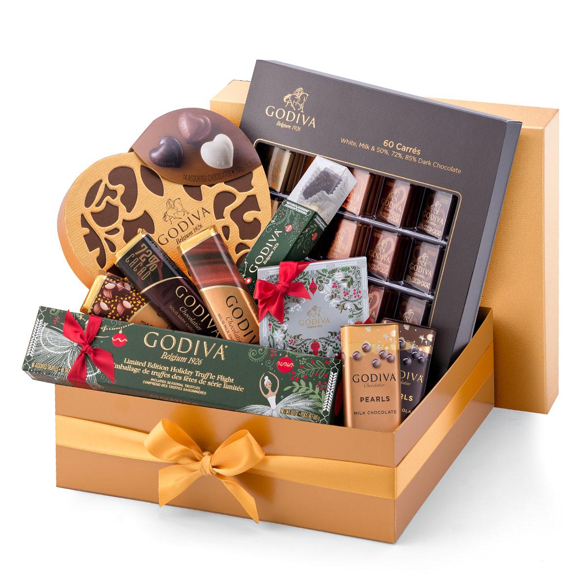 Godiva Christmas Gold Luxury Box