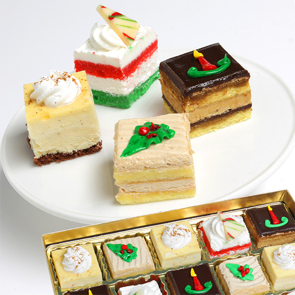 Holiday Petit Fours Collection