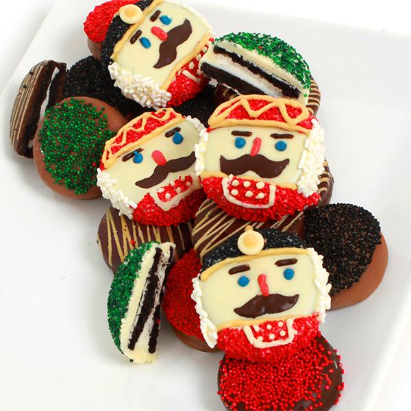 Nutcracker Belgian Chocolate Covered Oreo Cookies