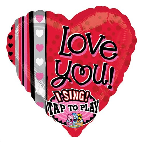 Love Dots And Stripes SingaTune Balloon