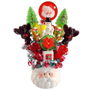 Santas Lollipop Bouquet