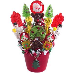 Christmas Lollipop Bouquet