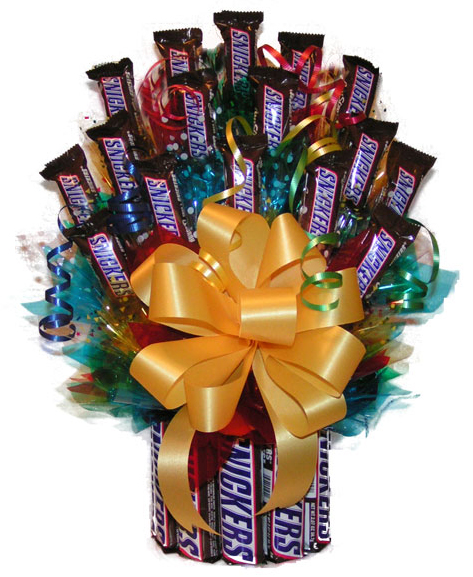 All Snickers  Bouquet