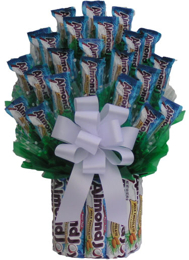 Hugs & Kisses Valentines Box Bouquet