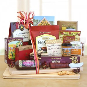 Deluxe Cheese & Snack board
