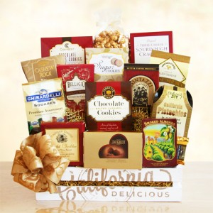 California Delicious Gift Crate of Great Tastes