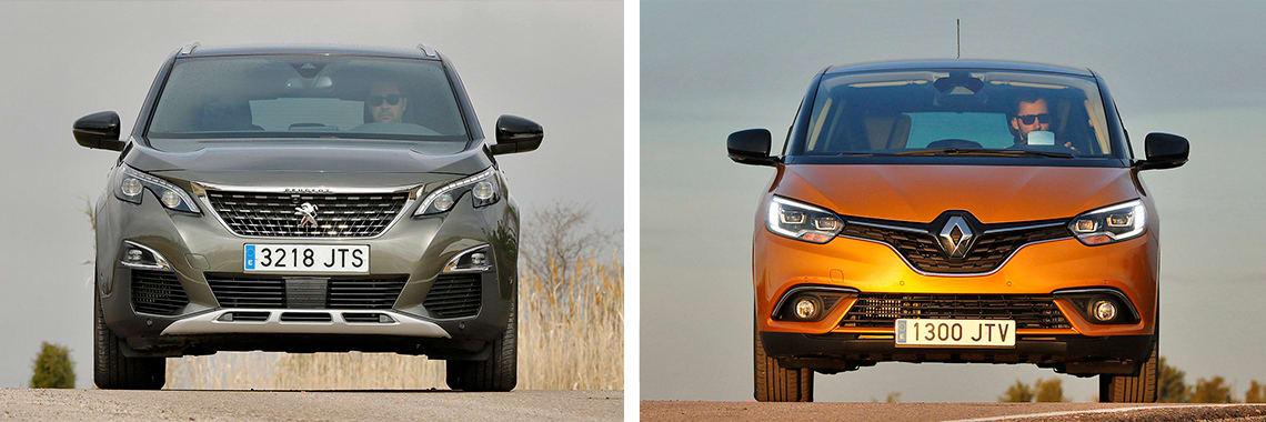 Las fotos del Peugeot 3008 corresponden al acabado Allure. Las fotos del Renault corresponden al acabado Edition One. Fotos cedidas por KM77.
