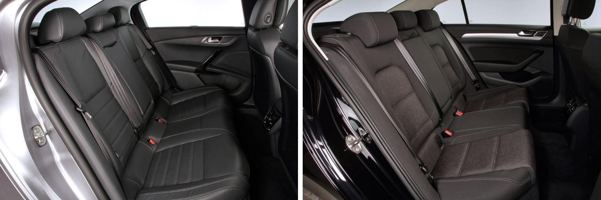 Las fotos del Peugeot 508 corresponden a la versión indicada. Las fotos del Volkswagen Passat corresponden al acabado Advance. Fotos cedidas por KM77.