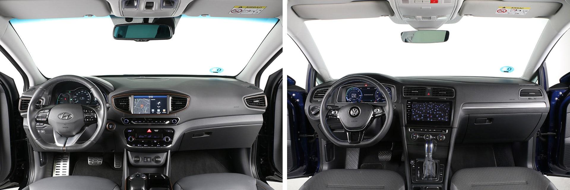 Los dos acabados usan materiales de buena calidad y ninguno ocasiona crujidos durante la conducción.