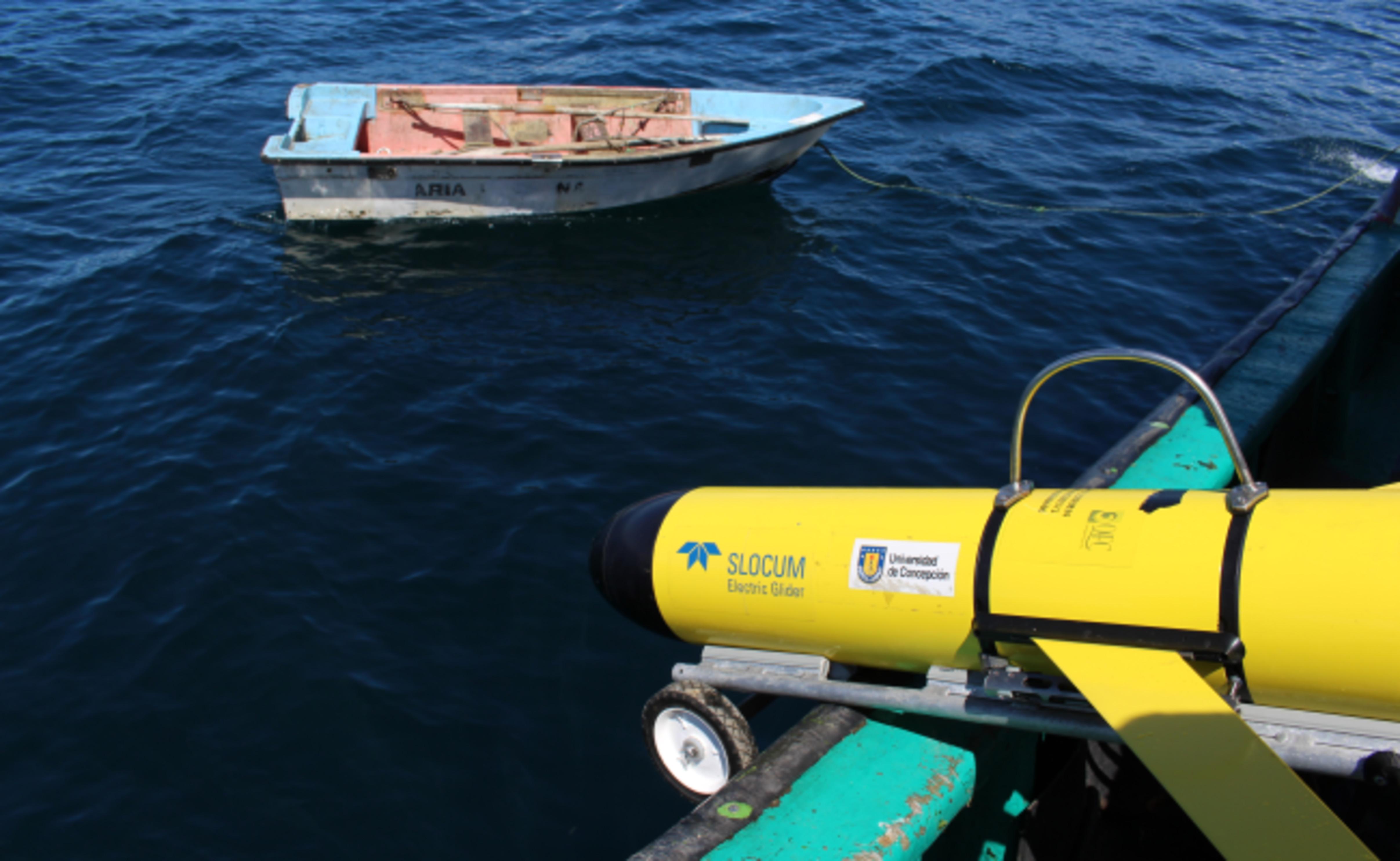 Resultado de imagen de IMO utiliza planeadores submarinos en expedición realizada en la costa de Valparaíso