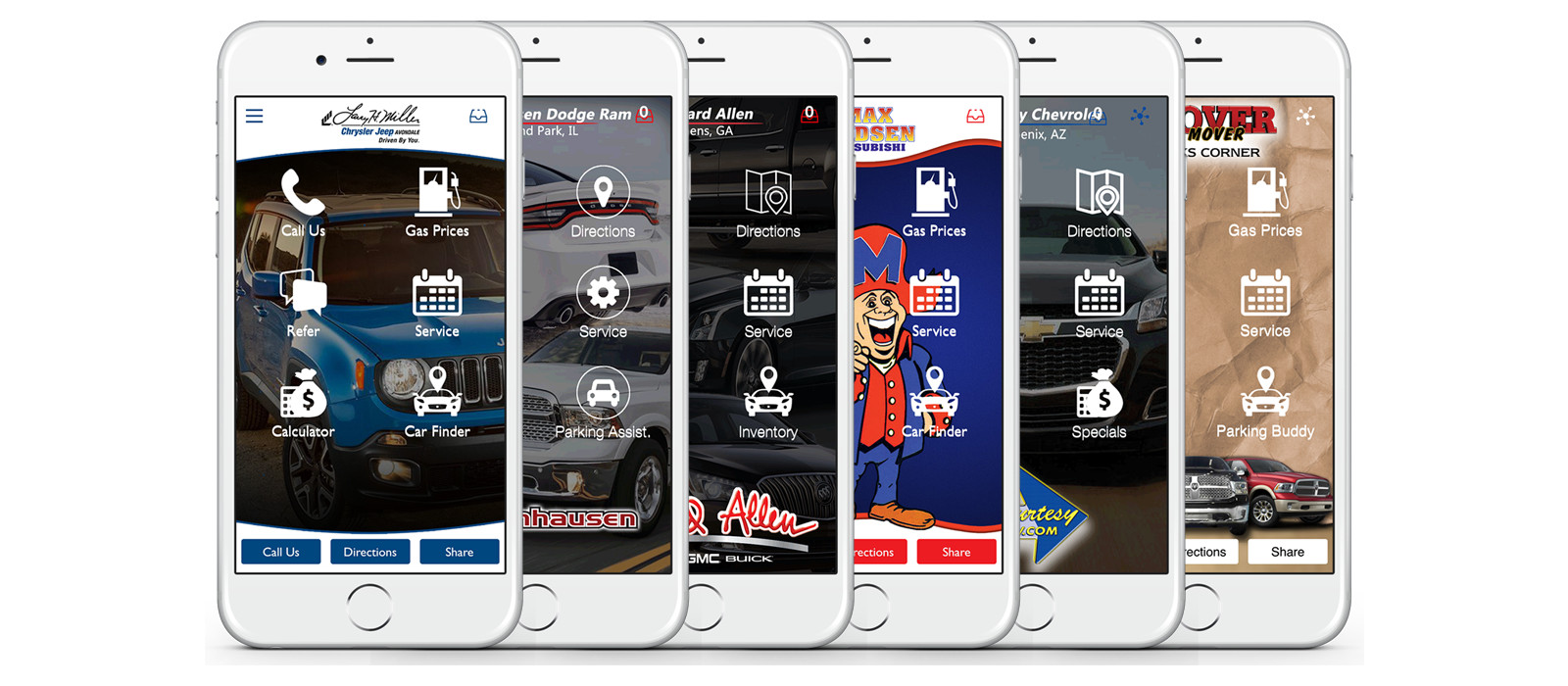 Dealership Lead Generator Mobile Apps