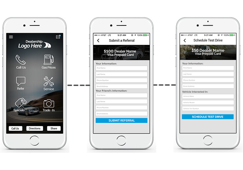 Incentivefox Referral Program and Mobile Apps for Auto Dealerships