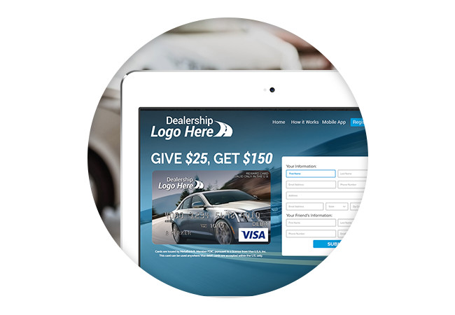 Dealership Automated Customer Referral Marketing Program
