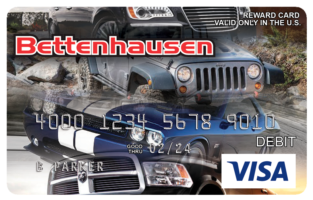 Bettenhausen Visa Prepaid Card