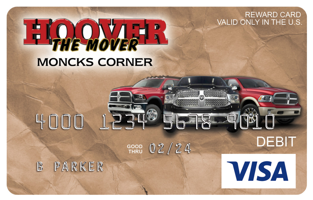 Hoover Moncks Visa
