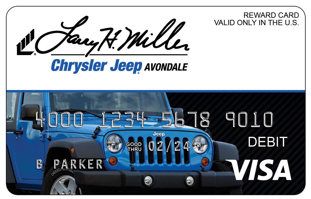 Larry H Miller Visa