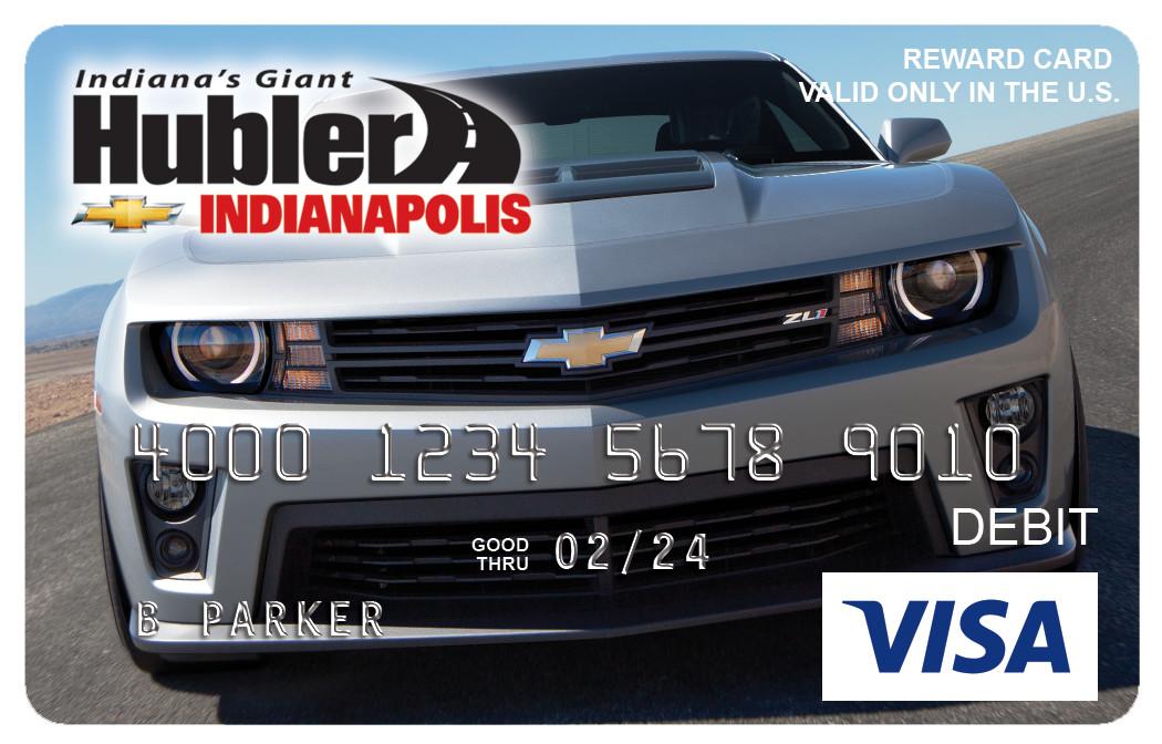 Hubler Chevrolet Visa