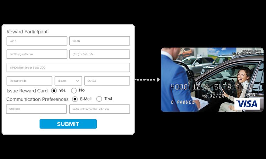 Dealership Customer Gift Card Rewards
