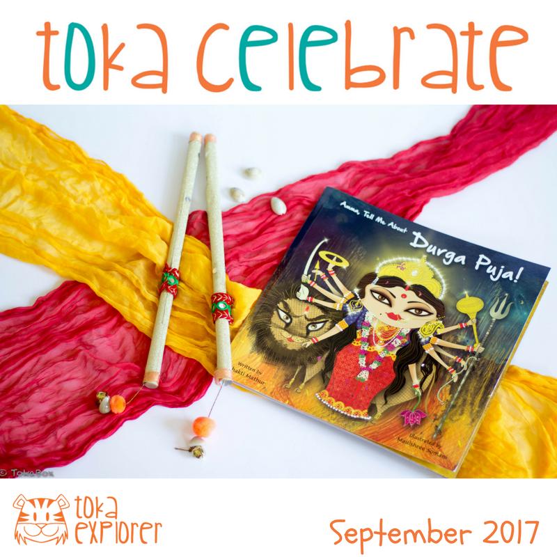 Toka Celebrate Navratri Books and Crafts