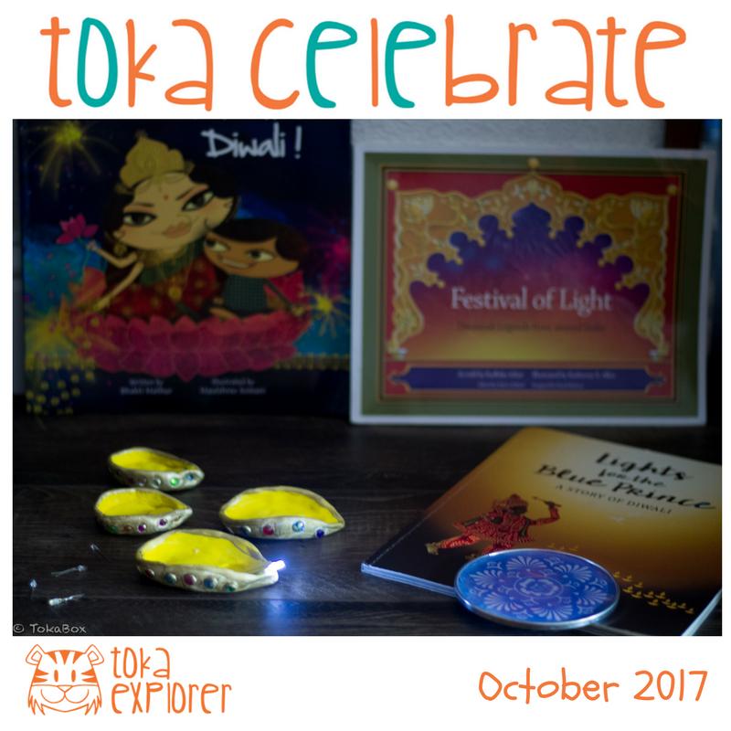 Toka Celebrate Diwali Books and Crafts