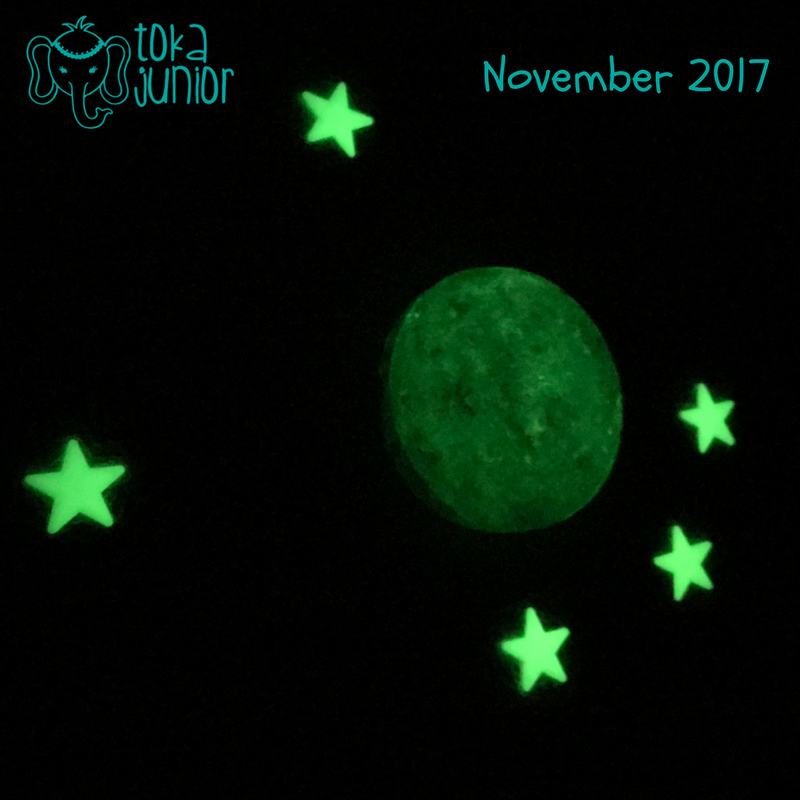 Astronomy Crafts for Preschoolers - Glow in the dark Moon