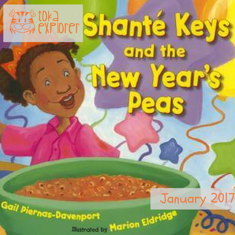 New Years' Books - Shante Keys and The New Years Peas
