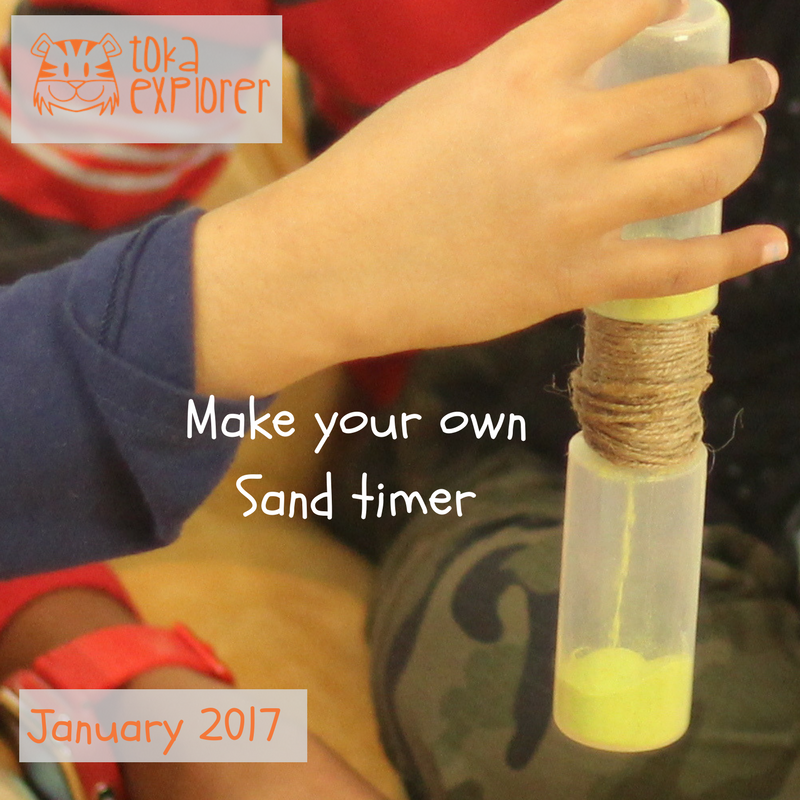 Make your own sand timer